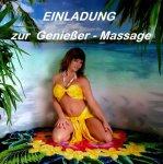 Einladung zur Genießer Massage